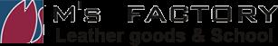 兵庫県姫路市のM's FACTORY(エムズファクトリー)|レザークラフトスクール体験、オーダーメイド革商品作成・販売